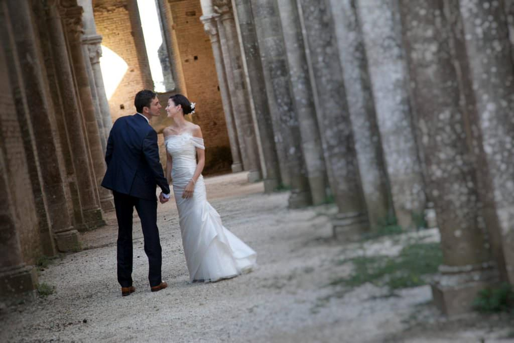 professional photographer in San Galgano Abbey