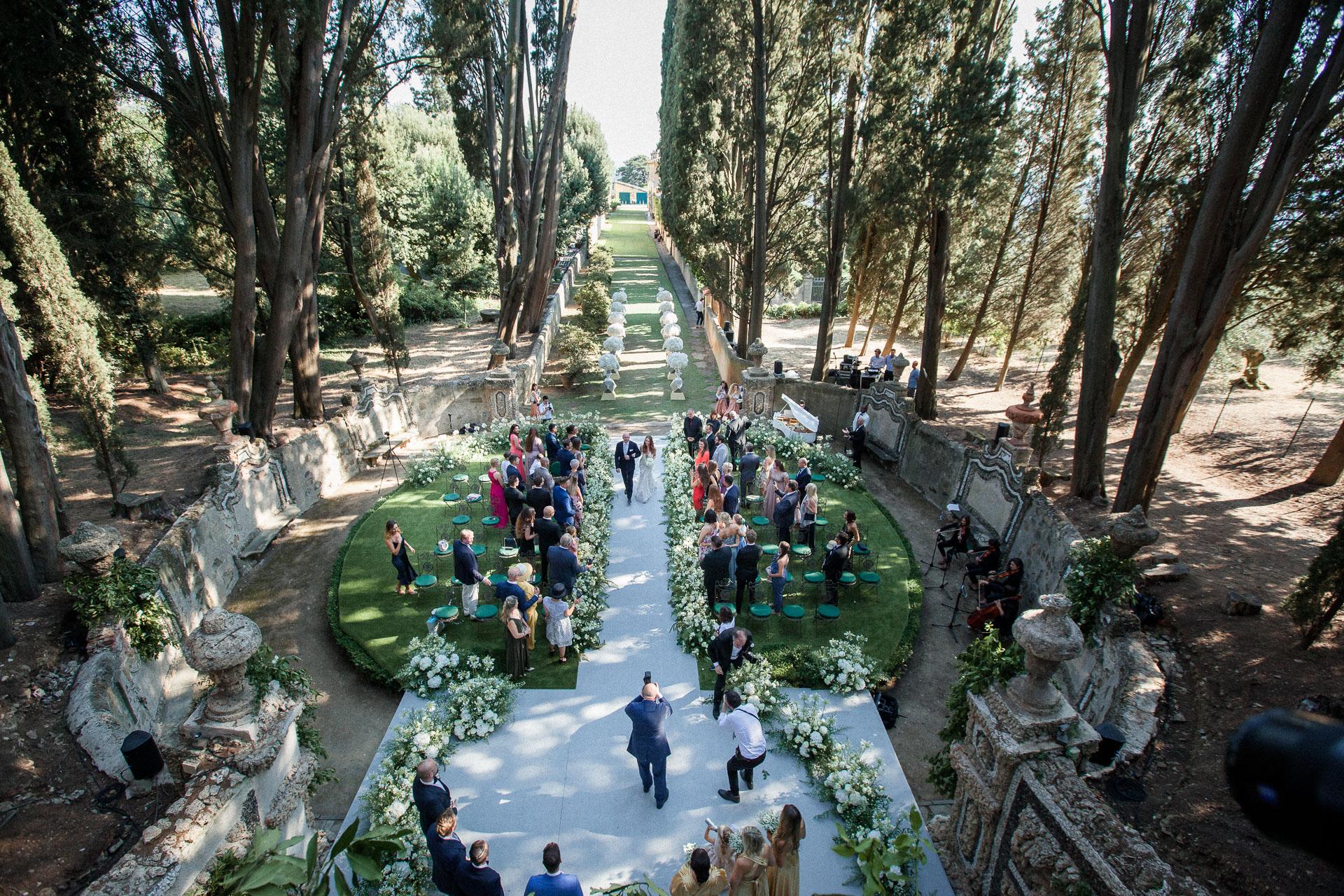 villa toscana wedding