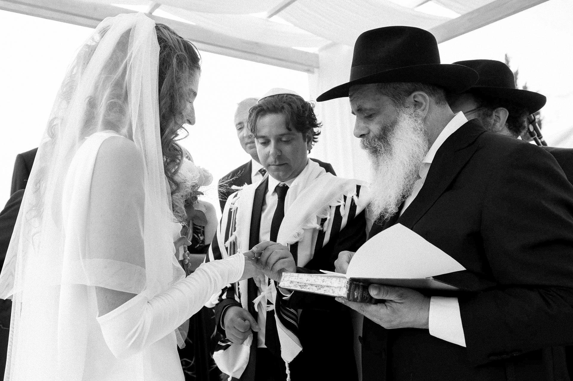 jewish wedding glass firenze
