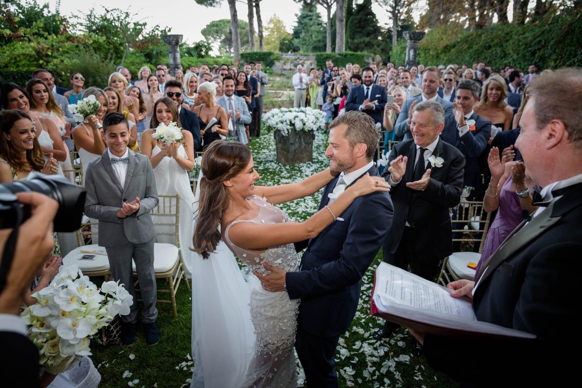exclusive italy wedding capri