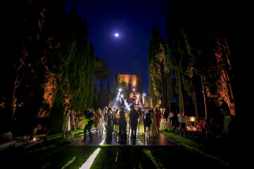Wedding photos at Castiglion del Bosco