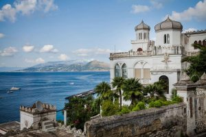 Capri wedding castle