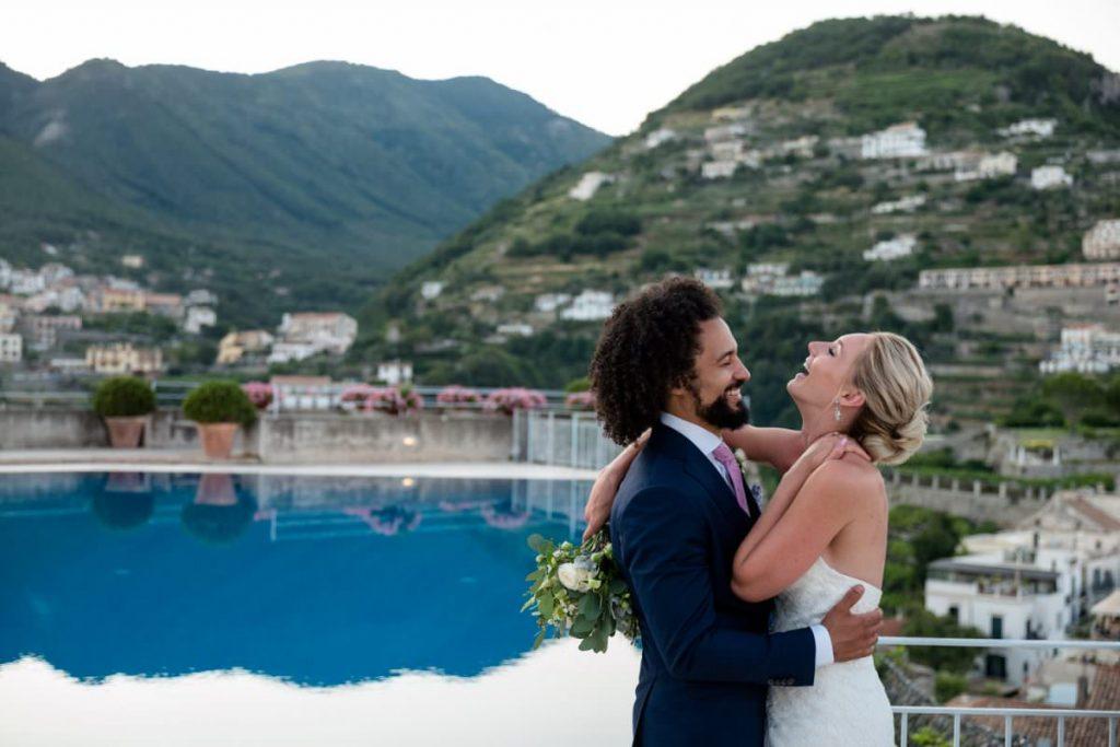 Hotel Caruso wedding photographs