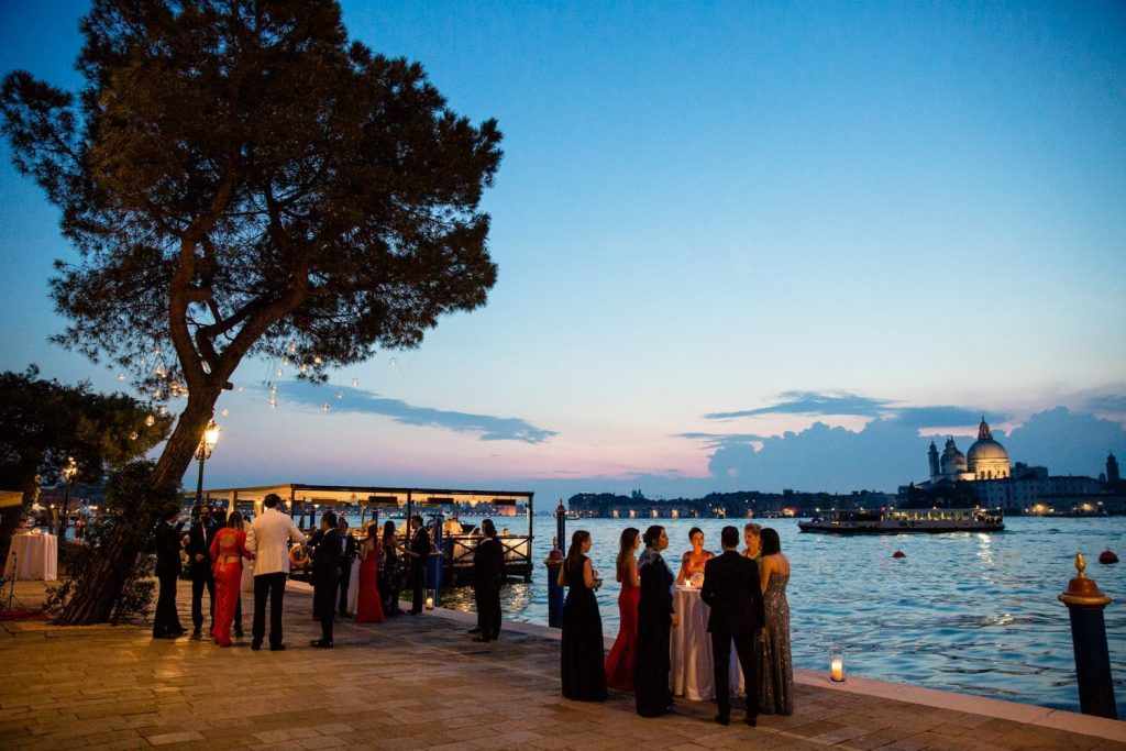 wedding shooting at hotel Cipriani