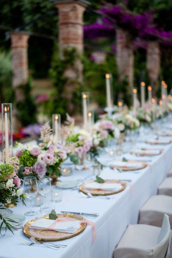 Luxury wedding venue in La Cervara Portofino