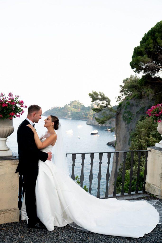 Wedding photos at La Cervara Portofino