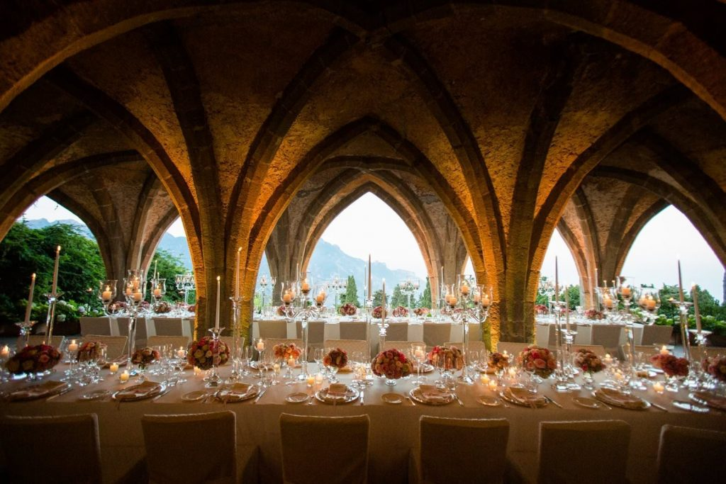 Hotel Villa Cimbrone wedding: a high class event
