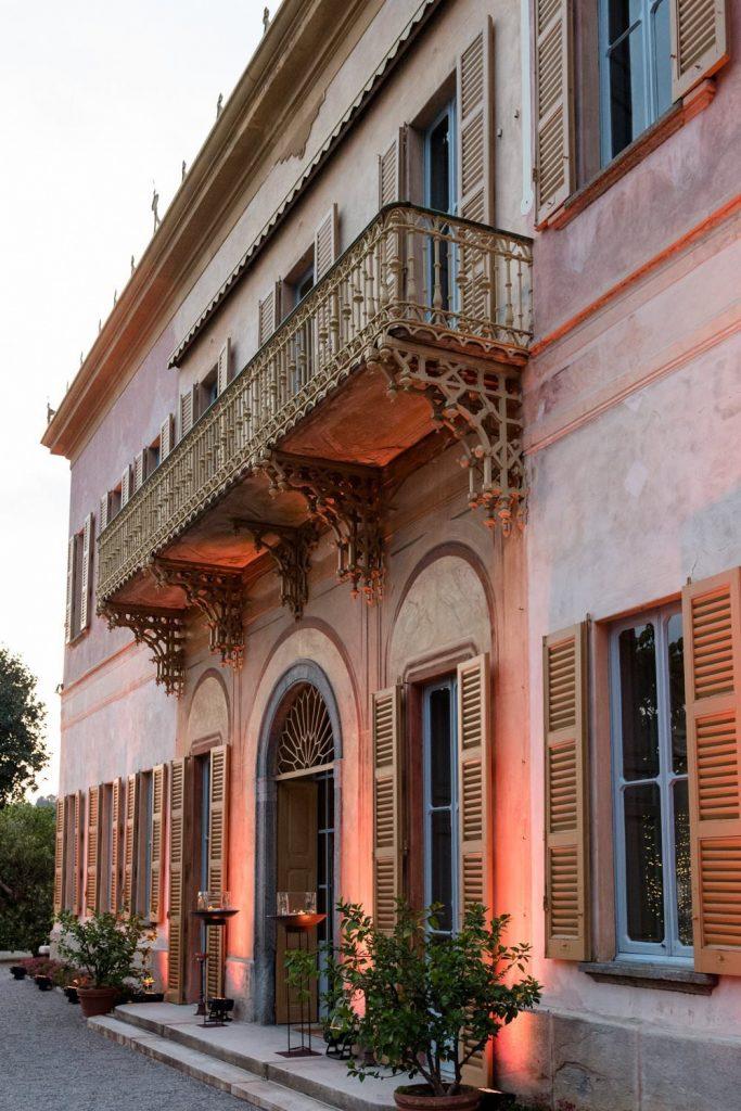 Luxury weddings at Villa Pizzo