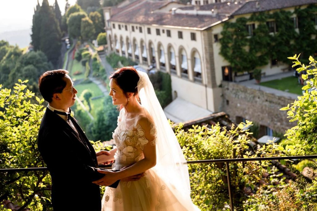 Luxury weddings at Villa San Michele