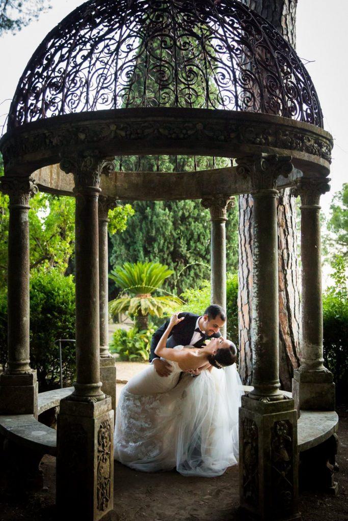 Wedding photos at Hotel Villa Cimbrone