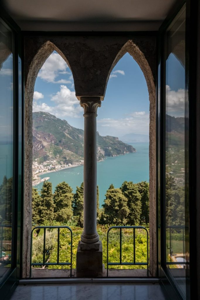 My wedding photographs at Villa Cimbrone