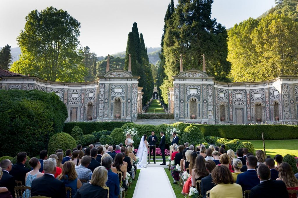 My wedding photographs at Villa d'Este