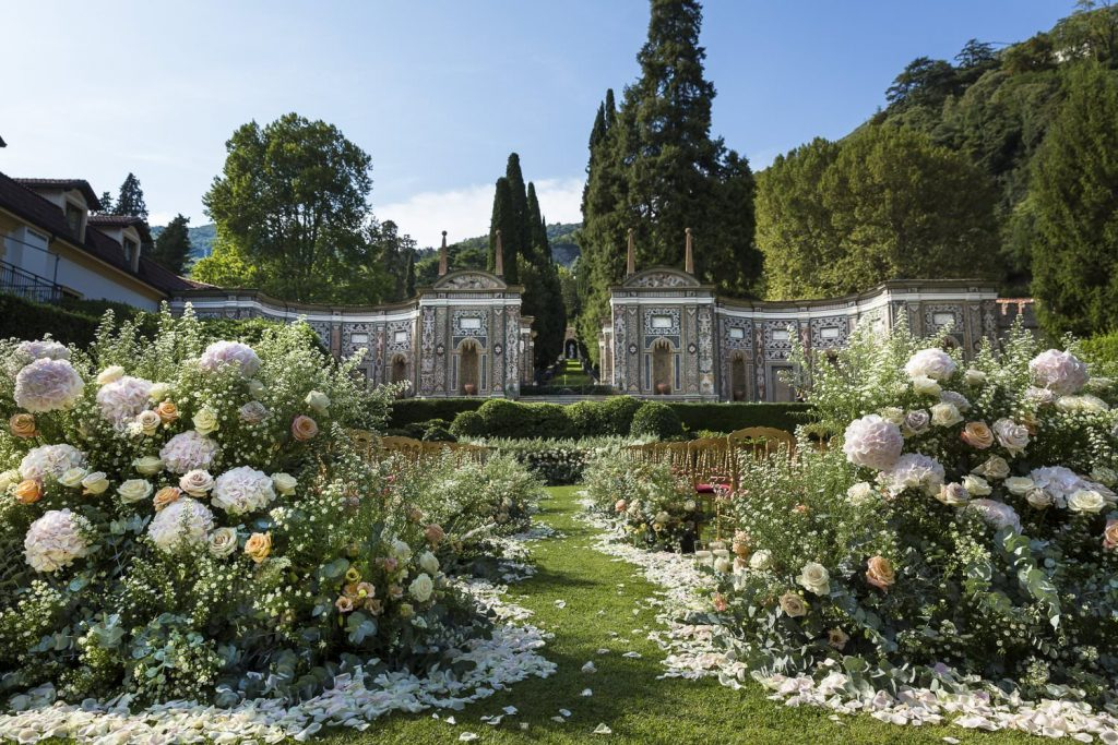 Wedding photoshoot at Villa d'Este