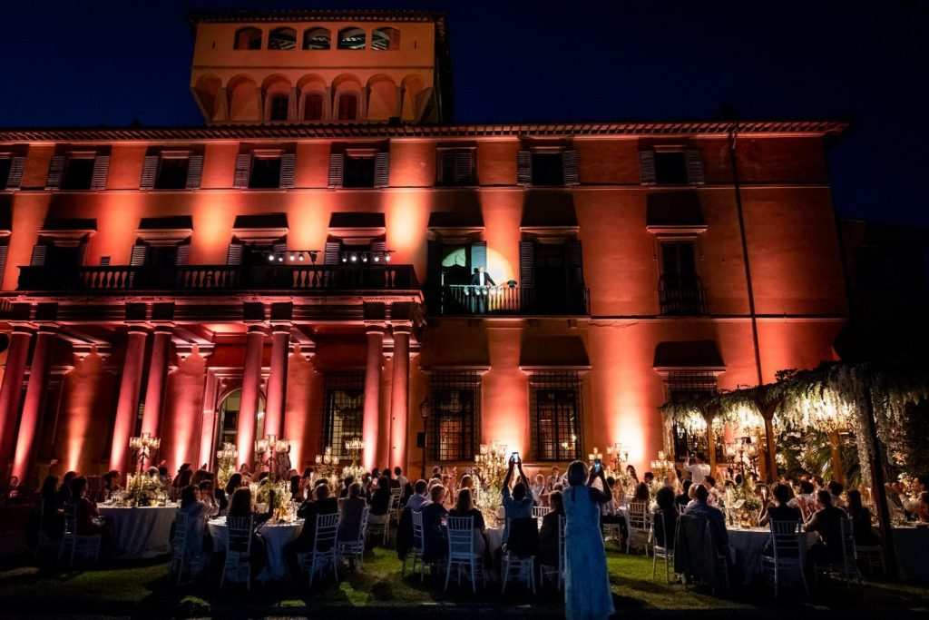 Luxury weddings at Villa di Maian