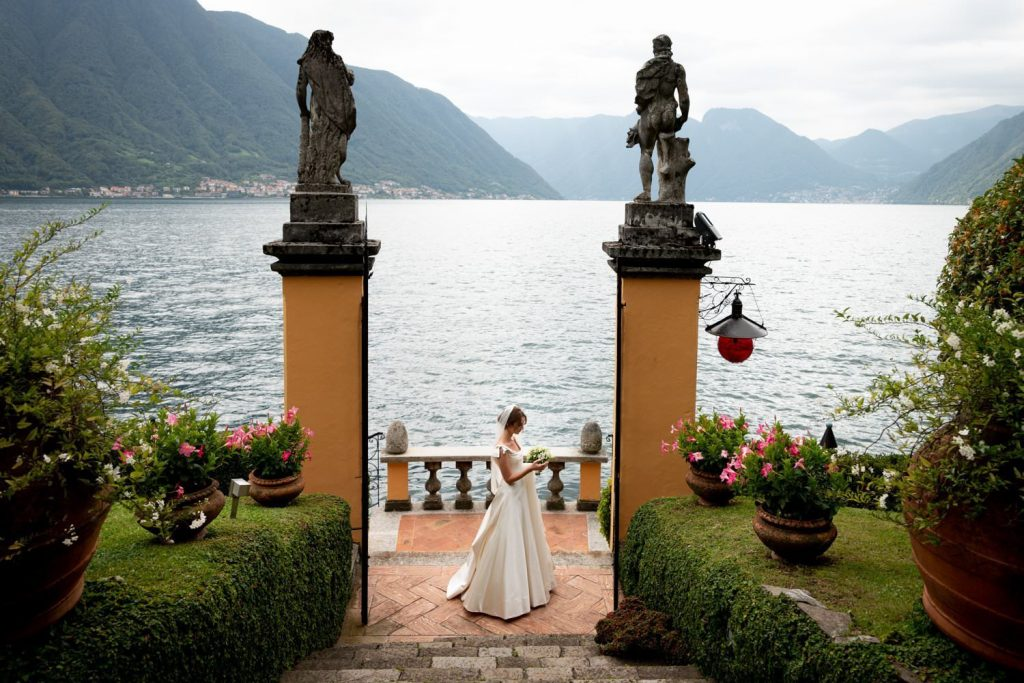 My wedding photographs at Villa la Cassinella