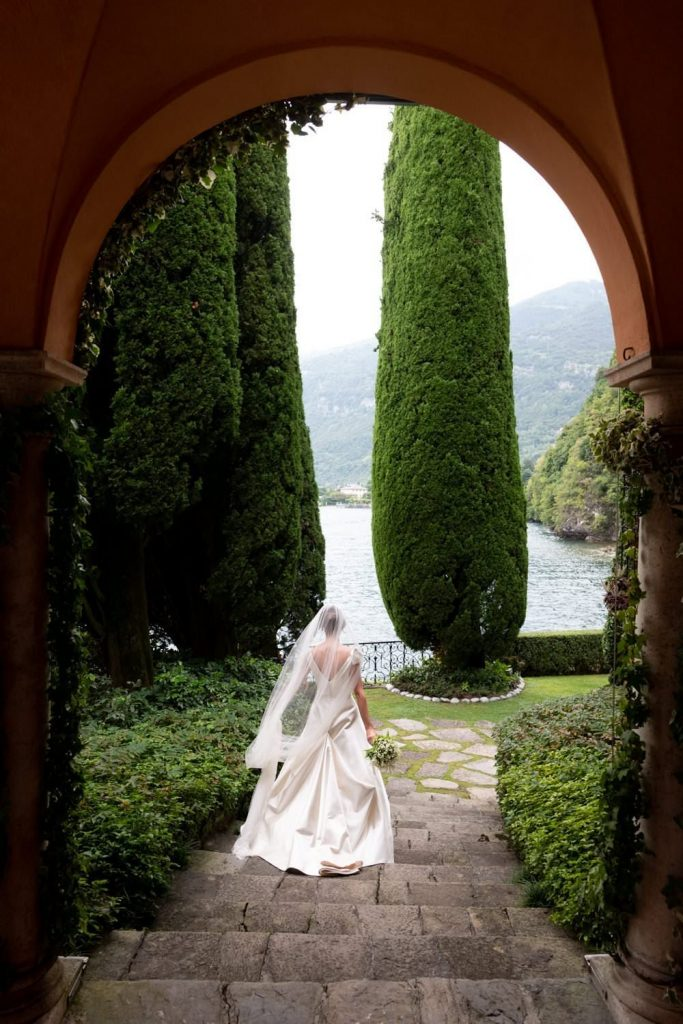 Villa la Cassinella wedding photo