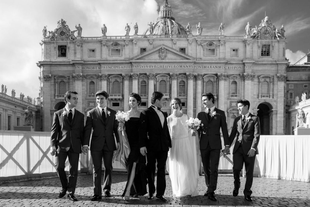 Villa Miani wedding photographs