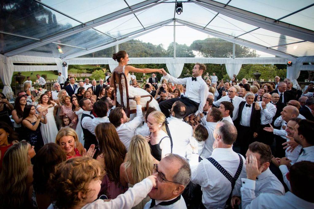 Luxury weddings at Villa Palmieri