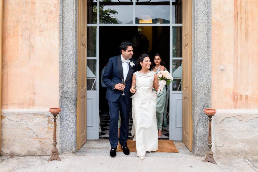 Villa Pizzo wedding: a high class event