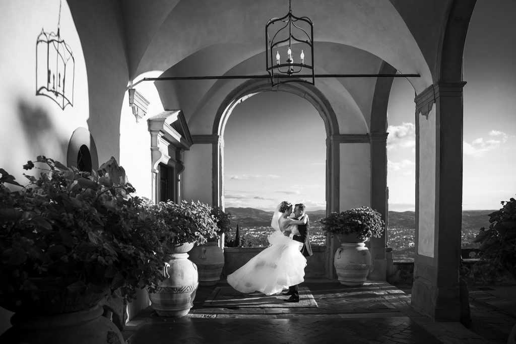 Villa San Michele wedding: a high class event