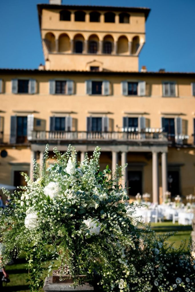 Wedding photos at Villa di Maiano
