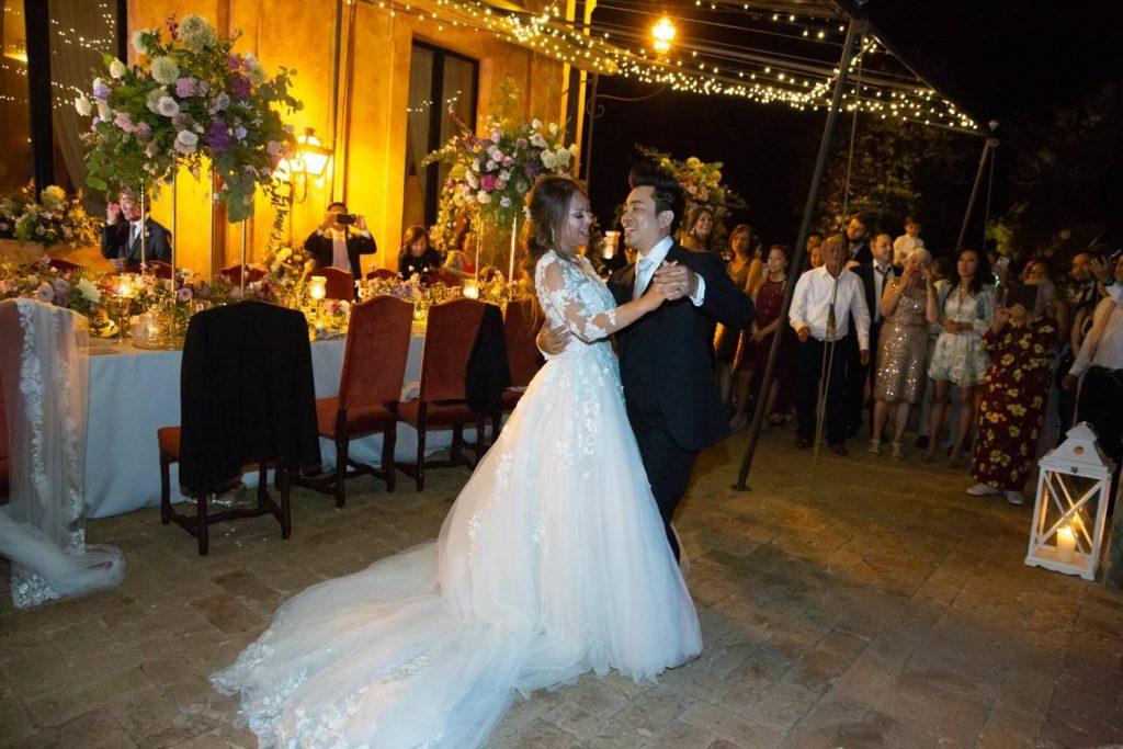Wedding photoshoot at la Posta Vecchia
