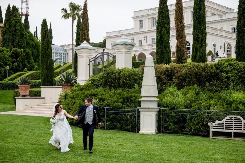 Villa Miani weddings Ladispoli