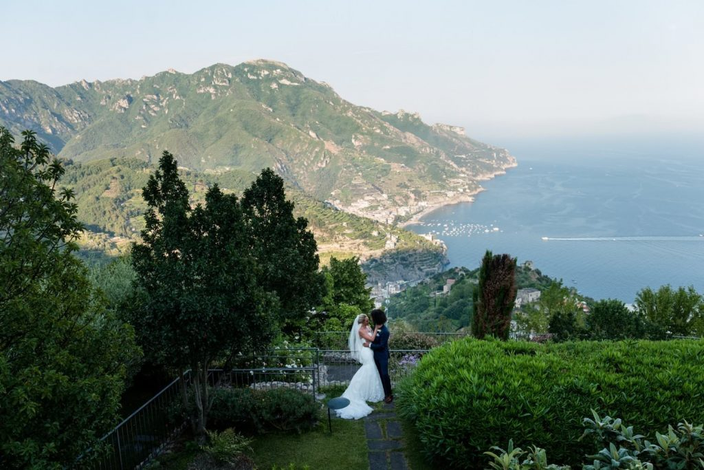 Luxury wedding venue in Hotel Caruso Amalfi Coast