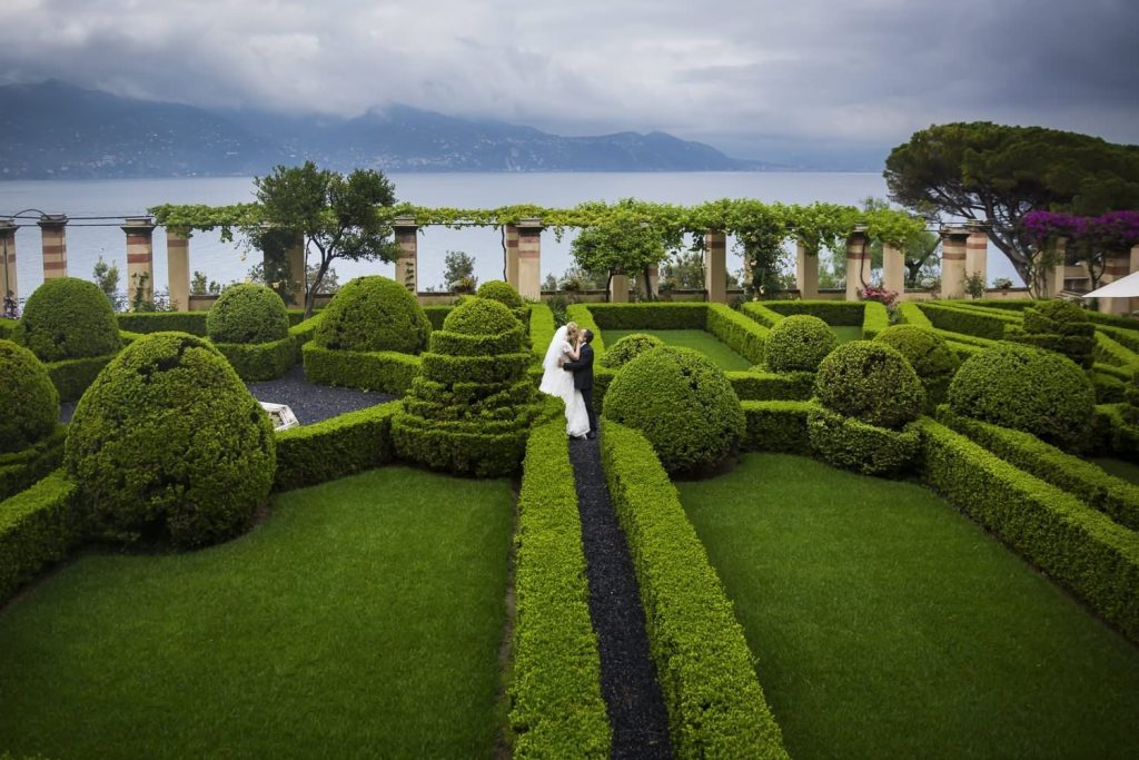 Wedding photoshoot at La Cervara