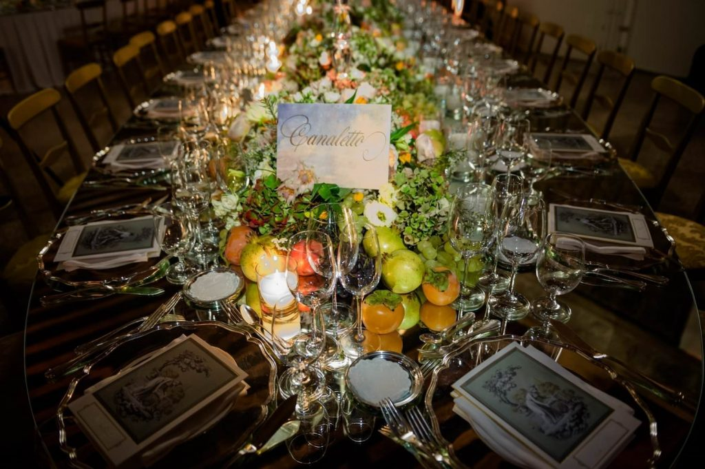 Palazzo Polignac wedding: a high class event