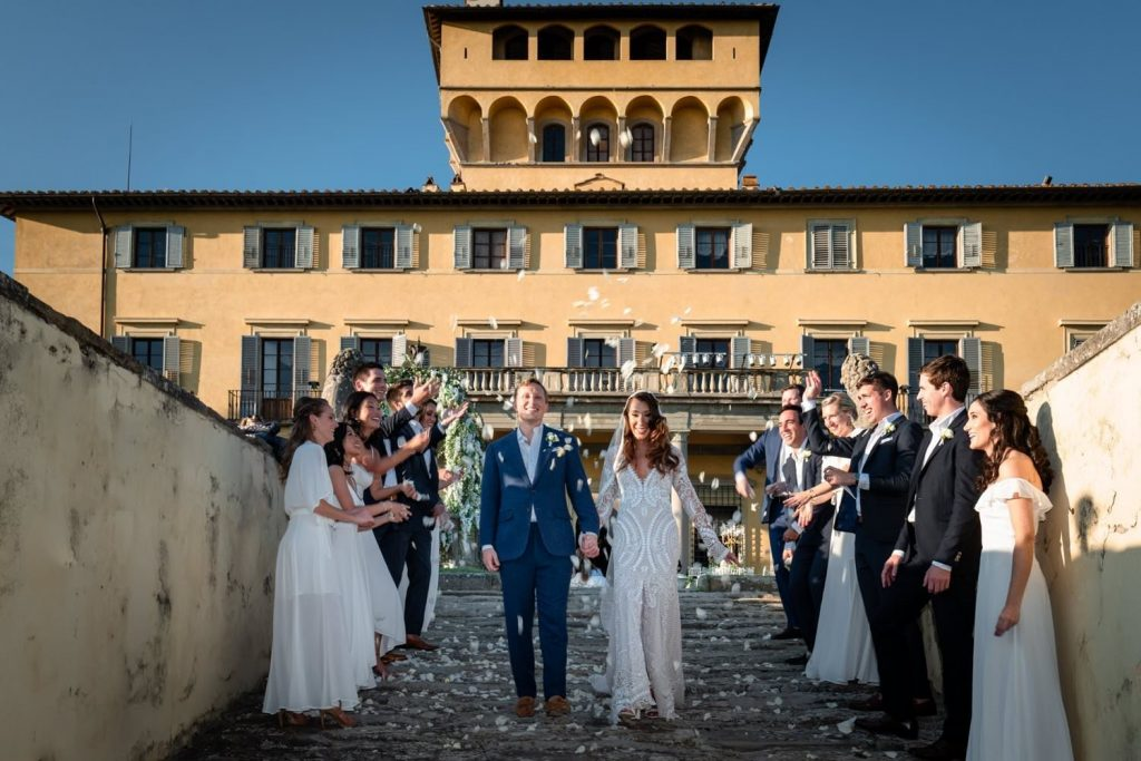 Villa di Maiano wedding: a high class event