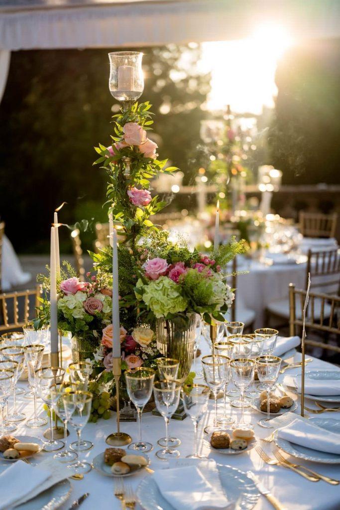Wedding photos at Villa Palmieri